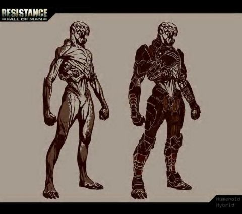 Resistance: Fall of Man - Humanoid hybrid