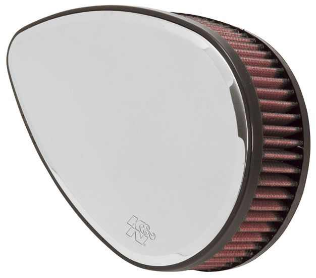 K&N HARLEY-DAVIDSON RK SERIES BILLET Air Filter Assemblies. *Sportster 1200cc 1991-97**TEARDROP MIRROR*