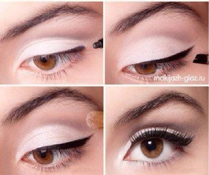 Simple shadow an liner