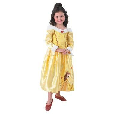 Belle Winter Wonderland prinsessenjurk - maat 128/140  Verkleed je als de prachtige Disney prinses Belle in deze mooie Winter Wonderland prinsessenjurk. In maat 128/140.  EUR 34.99  Meer informatie