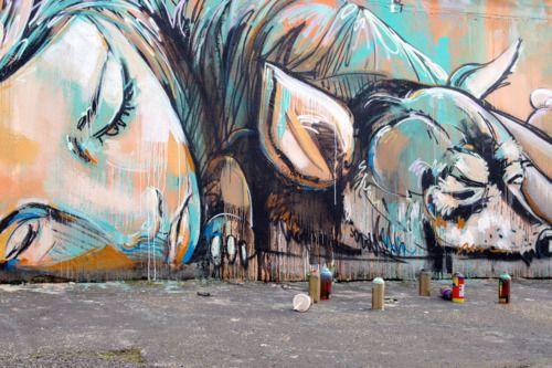 ArtBattles, on the streets of Roma, Alice Pasquini