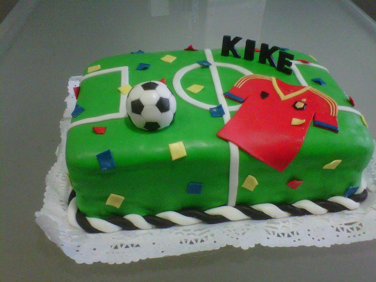 Torta Selección Española para Kike
