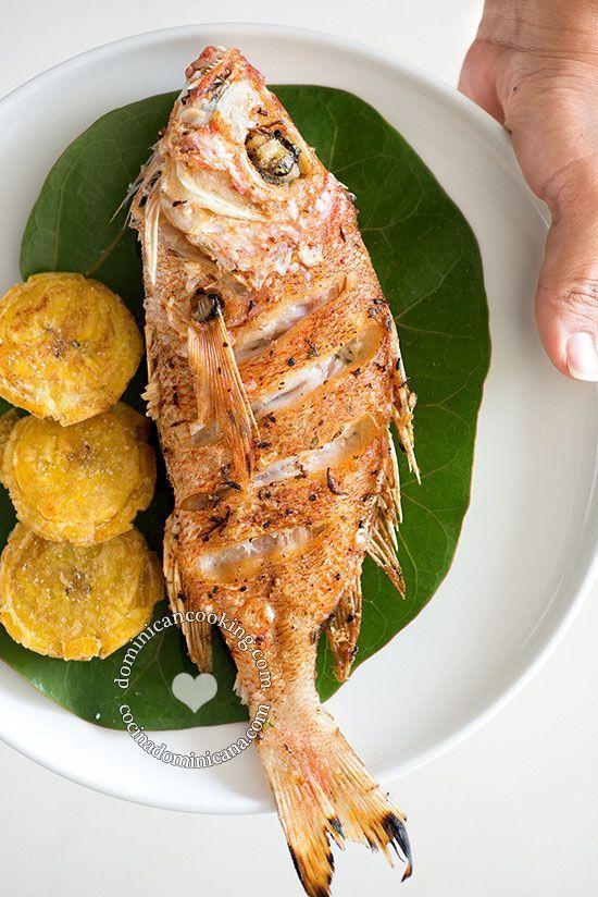 Mejores 277 imgenes de dominican food recipes en pinterest pescado frito recipe fried fish a la dominicana the kind of dish that forumfinder Gallery