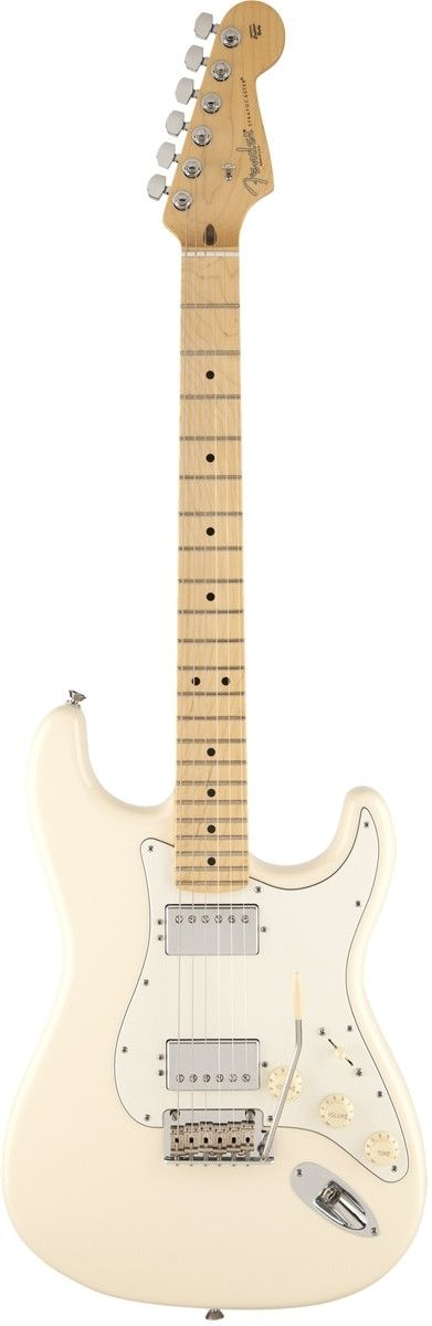 A Strat With More Power The American Standard Stratocaster HH is perfect for a player who loves the Stratocaster, but wants to rock harder with it. Fender has made the call to swap out the three singl