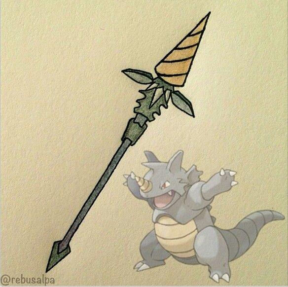 Pokemon Weapons Pokeapon 3 Pinterest