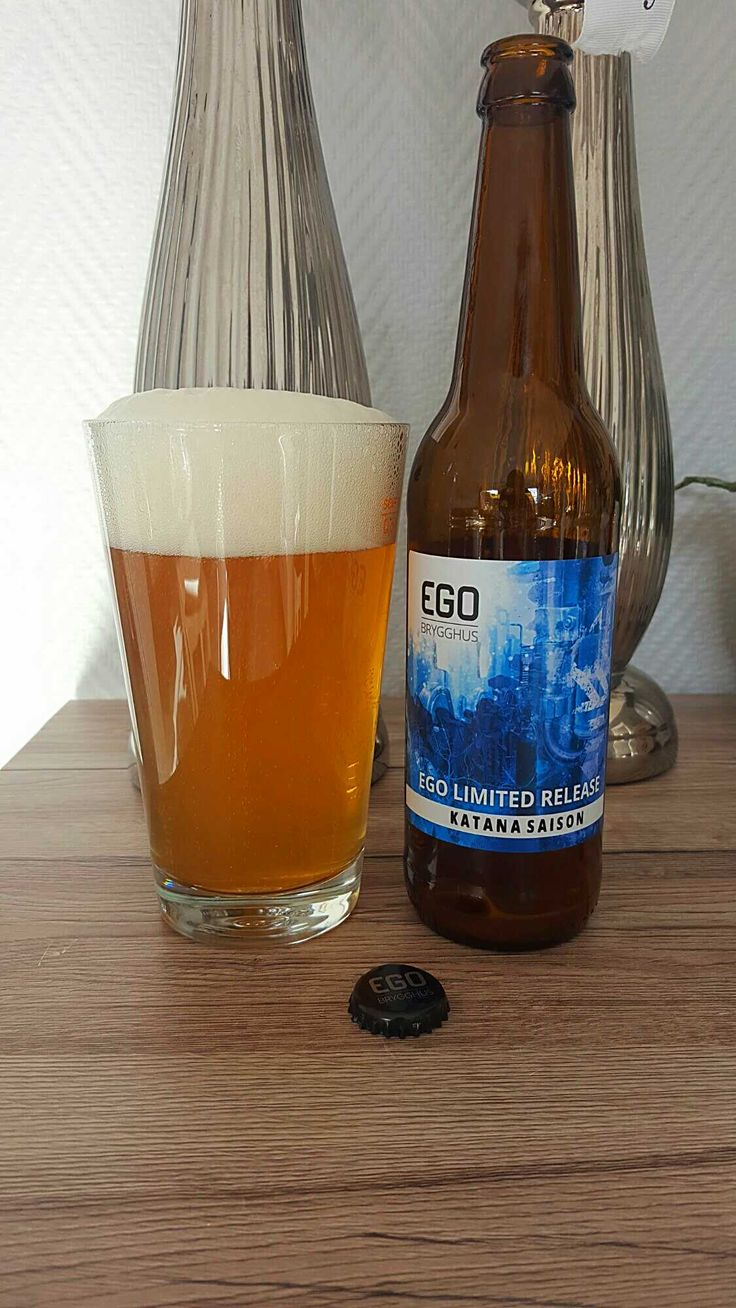 Ego Limited Release Katana Saison by Ego Brygghus