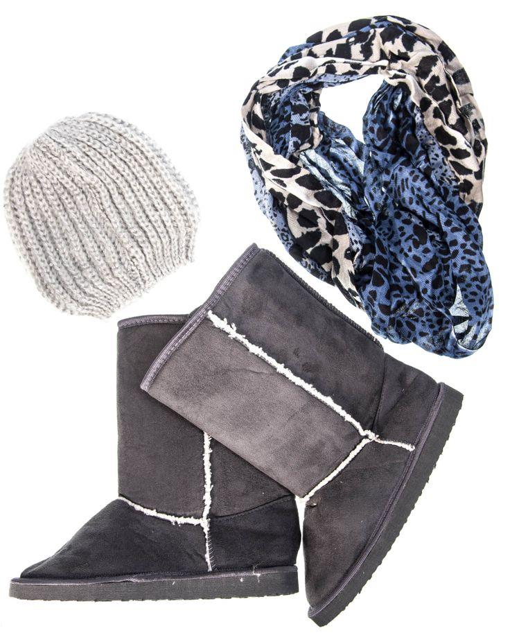 PICK N PAY CLOTHING (014 537 2540) SLIPPERS R79.99, SCARF R49.99, BEANIE R56