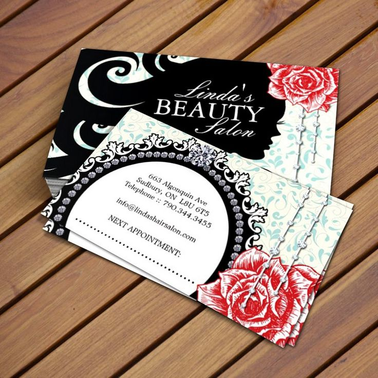 37 best hair salon business card templates images on pinterest fully customizable hair salon business card templates created by colourful designs inc reheart Images