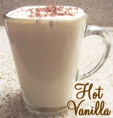 Hot Vanilla - Fun Alternative to Hot Chocolate!