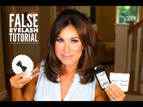 FALSE EYELASH TUTORIAL | Tracy Henselhttps://youtu.be/jCIVIoLY3dU