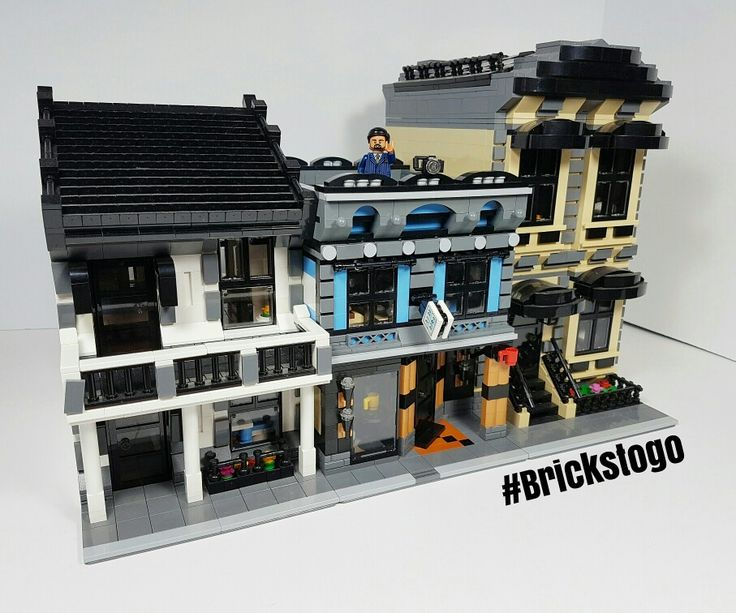 10+ Lego Custom Modular Building Instructions Free