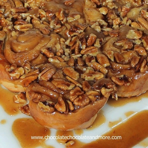 Caramel Pecan Sticky Buns, so easy to make and so good, you'll want to make them every weekend! I should probably name these the lost rolls. I made these rolls almost 2 months ago. Just like I always do, I had a piece of paper and was writing down my measurements as I created, crossing...
