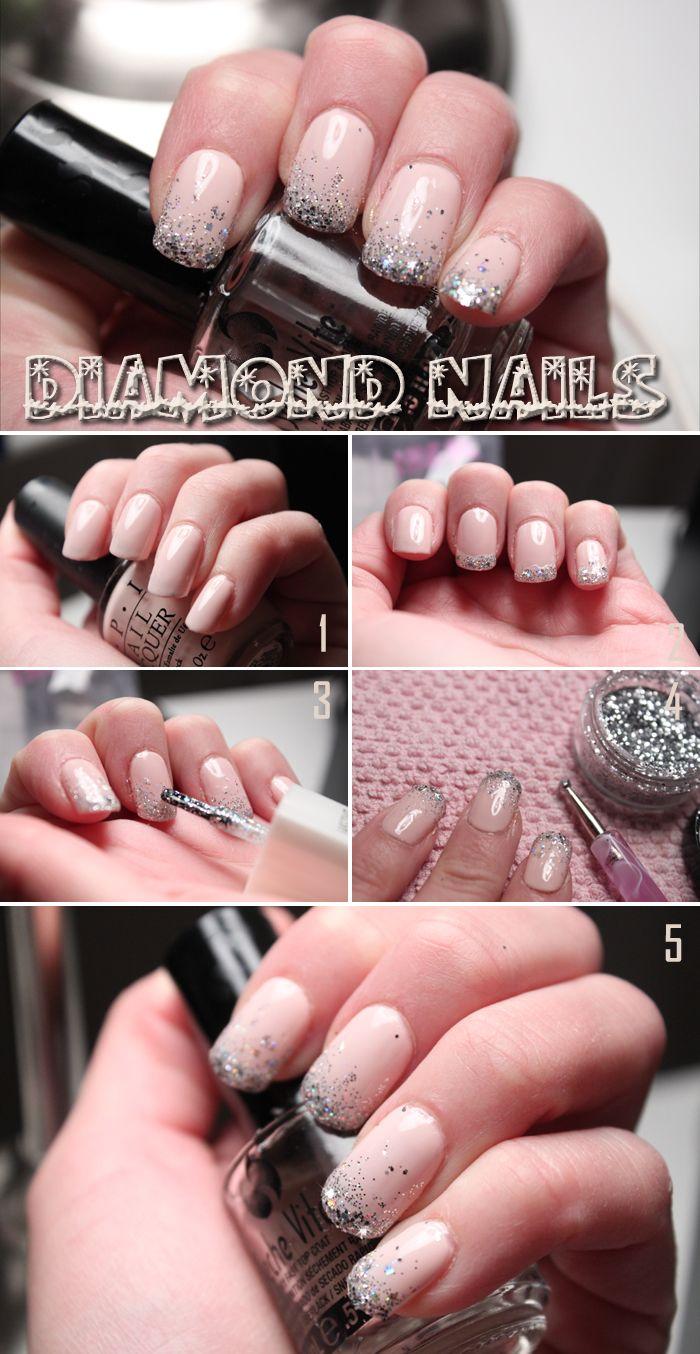 Så här skapar du enkelt de snygga naglarna till nyår! | Helen Torsgården - Hiilens sminkblogg | Veckorevyn