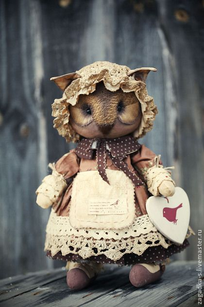 Ароматизированная кукла Сова. Handmade.