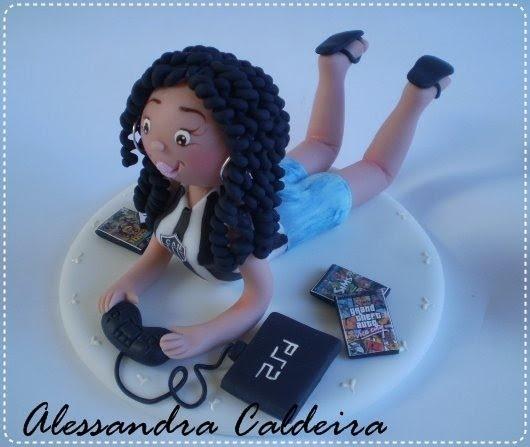 Ateliê Alessandra Caldeira: Topos de bolo: 15 anos