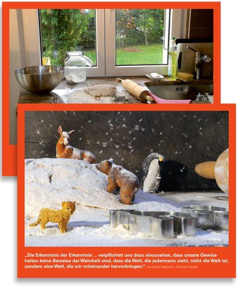 Christmascard for the Interkantonale Hochschule für Heilpädagogik Zürich © intwodesign