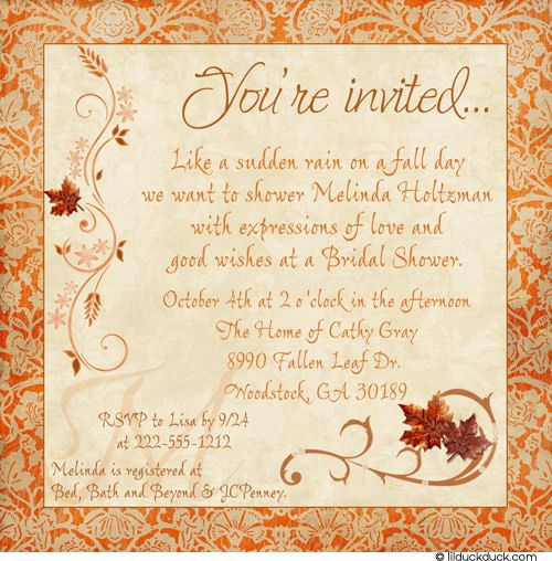 80 best fall party invitations and celebration ideas images on, Party invitations