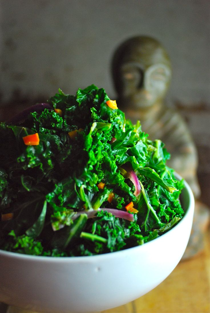 Thai Kale Salad with Coconut Lime Dressing