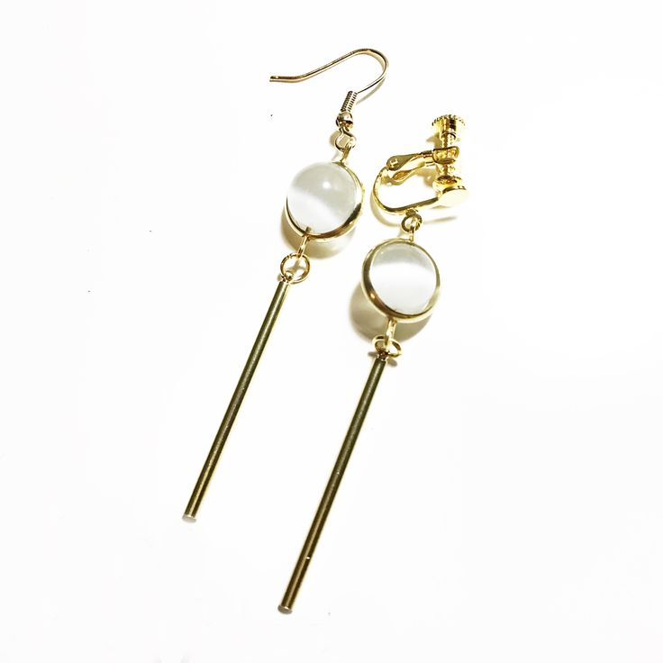 Girly Girl Boutique Earrings on Girly Girl の To Alice.Handmade Vintage Cat'S Eye Earrings Minimalist Brass Eardrop Gg393 is a must to make an amazing outfit. You can wear it in any occasion - school, office, dates, and parties.