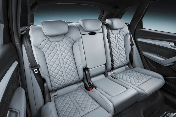 Quilted seats are an option on high-end Audi Q5s
