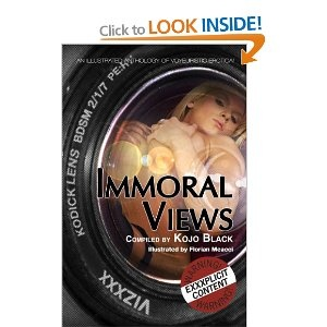 IMMORAL VIEWS (Paperback) - a deliciously dissolute anthology of voyeurism, featuring five titillating tales from erotica's sultriest mistresses! Illustrated by John LaChatte