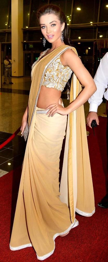 Amy Jackson at SIIMA Awards 2013 #Bollywood #Style #Fashion