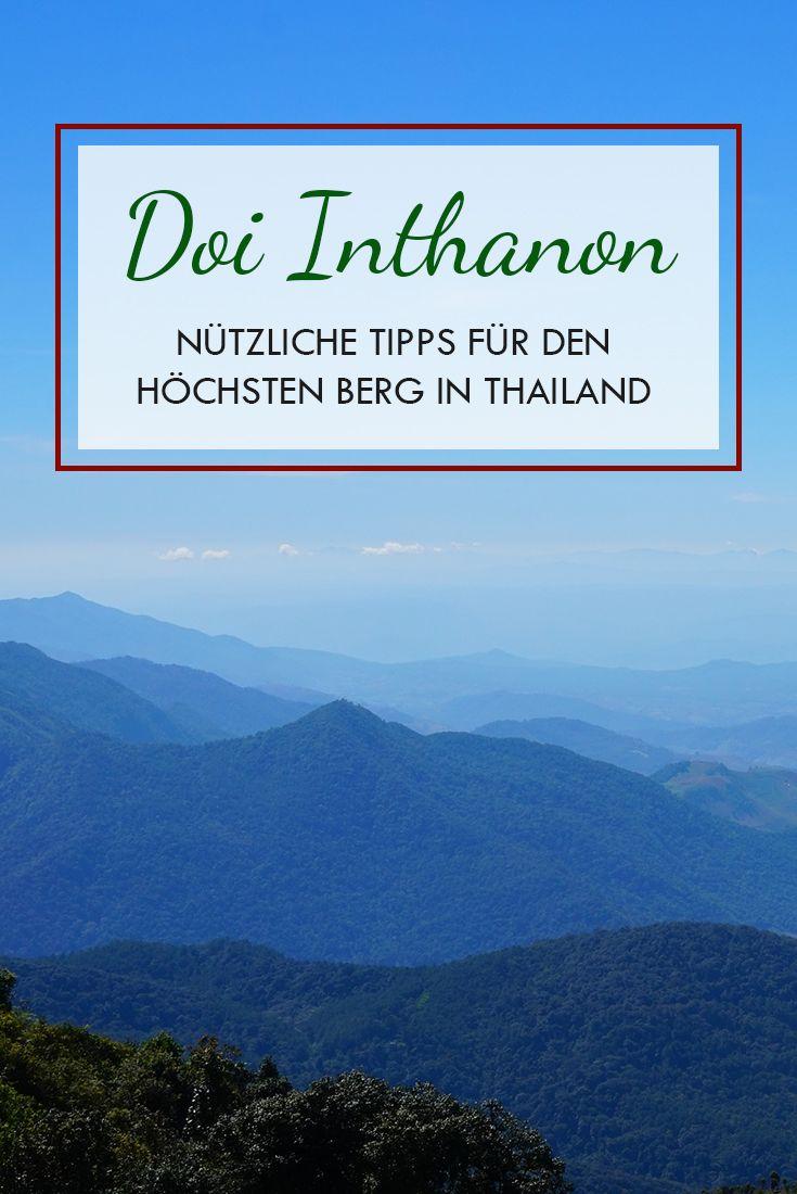 In Chiang Mai findest du den Höchsten Berg in Thailand. Der Berg heißt Doi Inthanon und ist gleichzeitig ein cooler Nationalpark. Du findest in diesem Beitrag alle wichtigen Tipps & Infos.