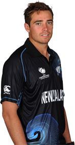 Tim Southee || Role: Bowler || Bates: RHB || Bowls: RFM || Date of Birth: 11 Dec 1988 ||  A gifted bowler who also played rugby during his school days, Tim Southee broke into the Black Caps One-Day International and Test teams in 2008.
