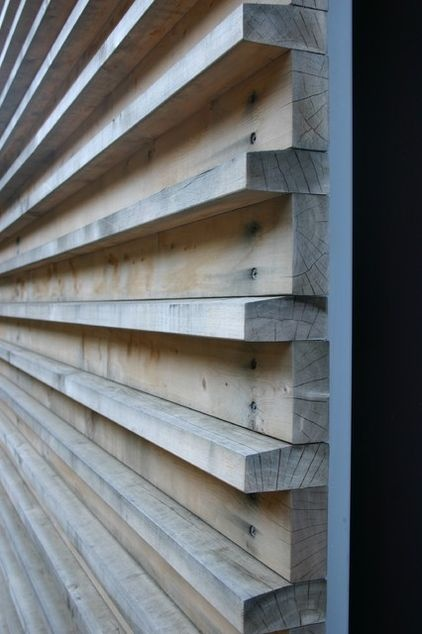 contemporary exterior by Fougeron Architecture FAIA #wood #cladding