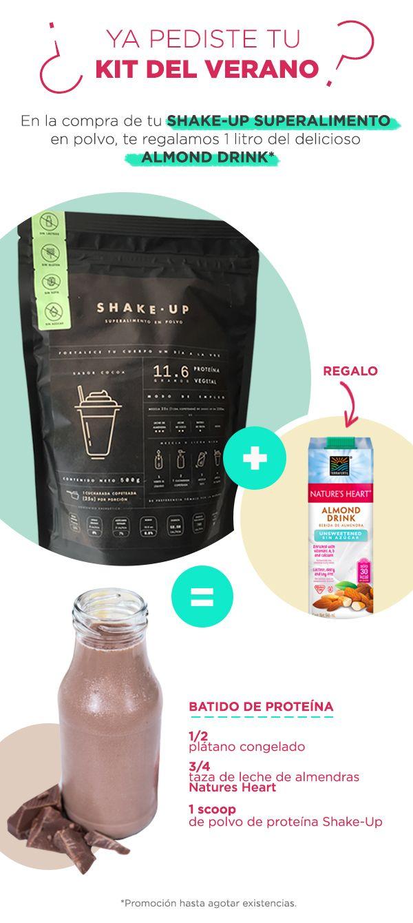 Prueba este smoothie de proteína delicioso con Shake-Up de InstaFit. Compra aquí: www.shakeupdrink.com