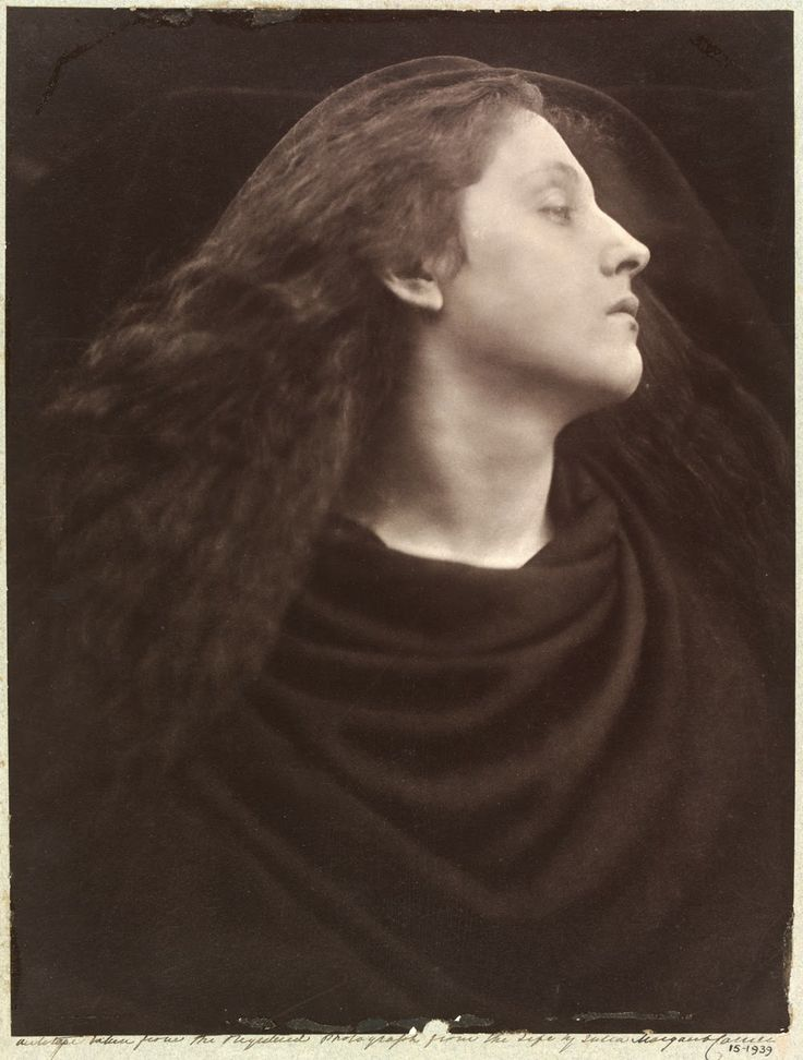 Mary Hillier, photographed by Julia Margaret Cameron