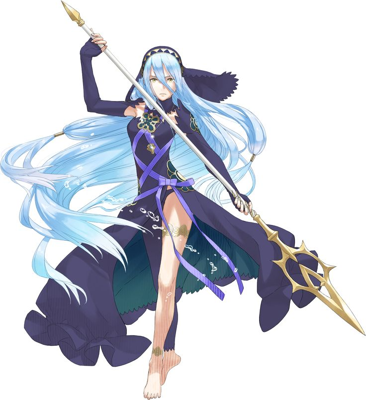 Fire Emblem If - Aqua Fanmade Dark Coloration by MelodyCrystel.deviantart.com on @DeviantArt