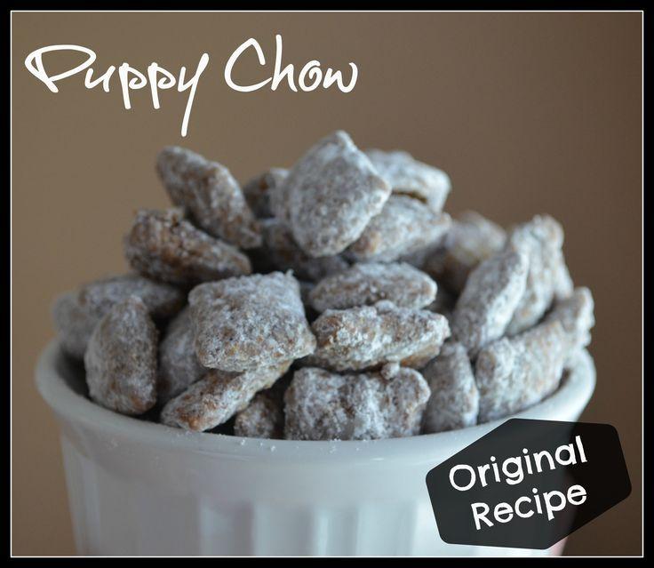 Puppy Chow- Original Recipe, sometimes the original is the best!!!!
