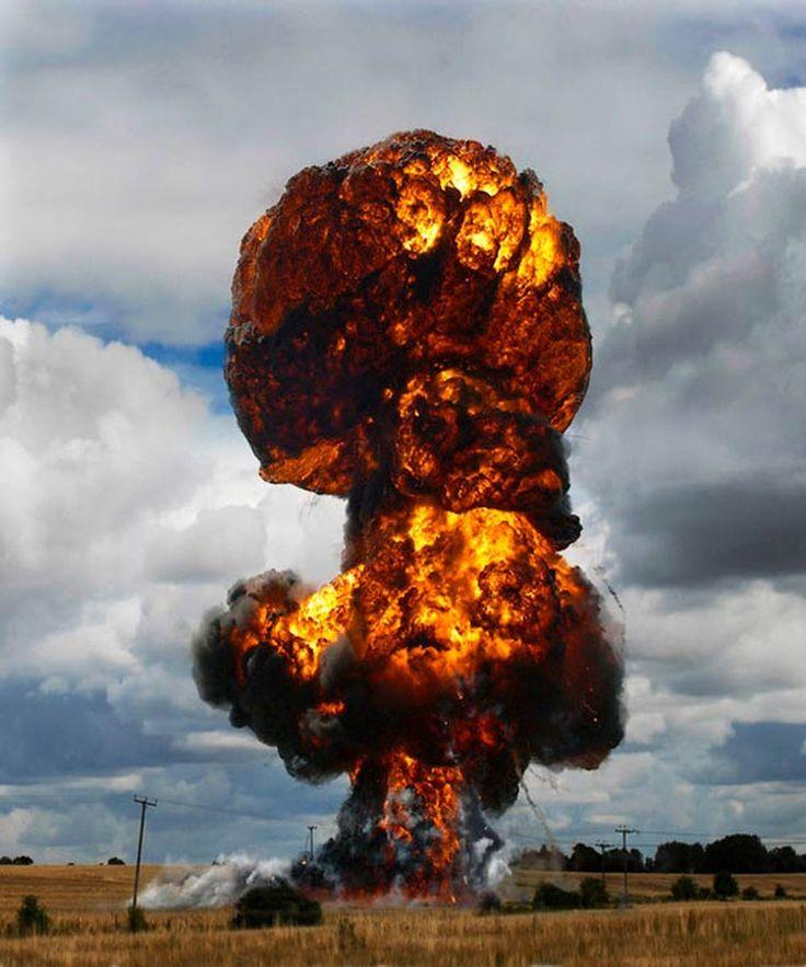 Прикольные картинки взрывов