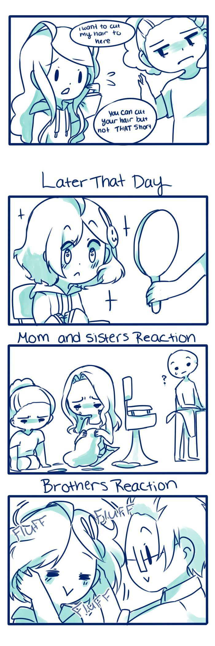 Anti-Social Media :: 14: Little hair | Tapastic Comics This is so true tho! My brother does this to me!