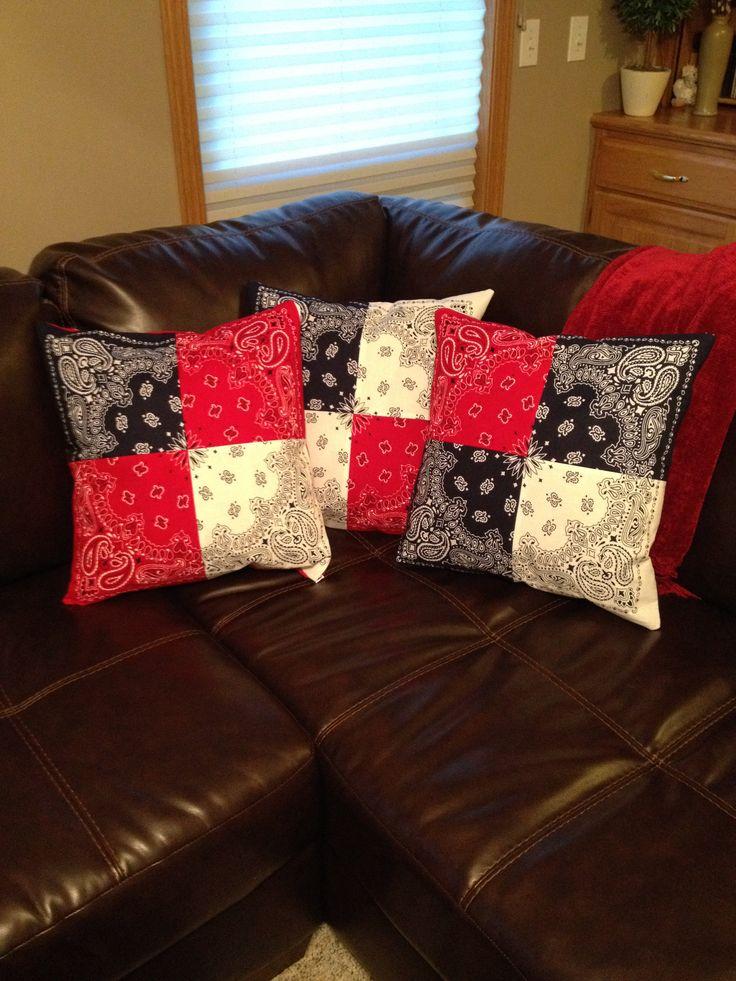 Bandana pillows!