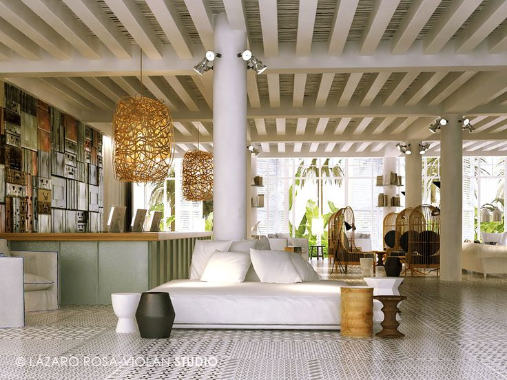 Hoteles diseñados por Lázaro Rosa Violán ¡que te cautivarán!