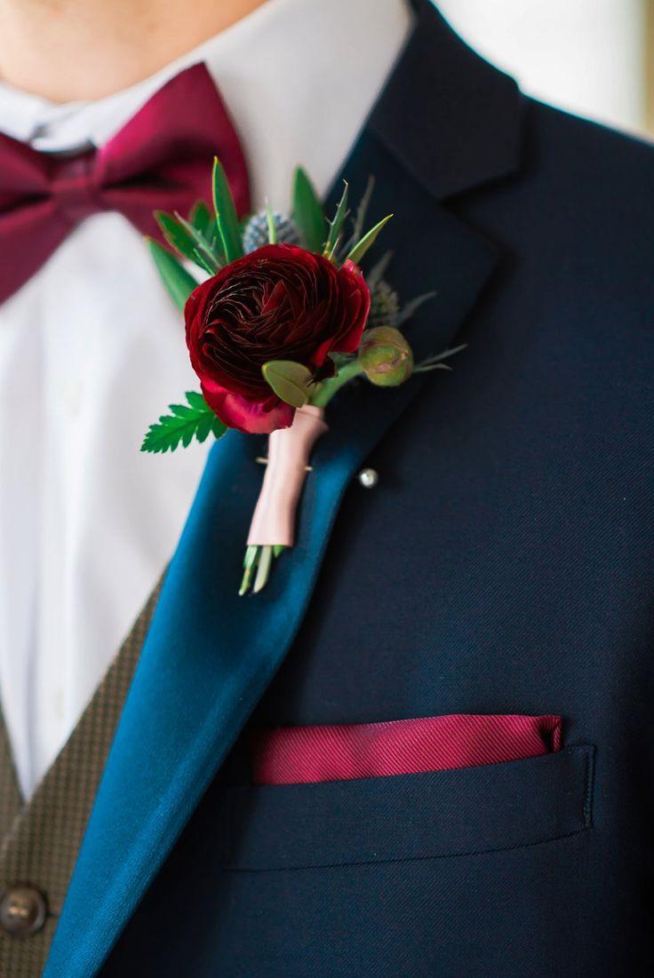 Elegant Navy & Plum Bohemian Wedding Ideas