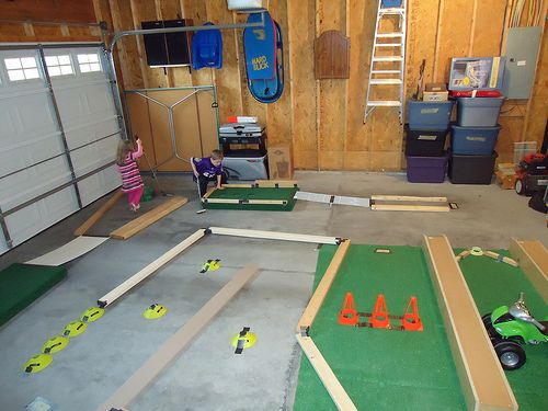 how to build mini golf
