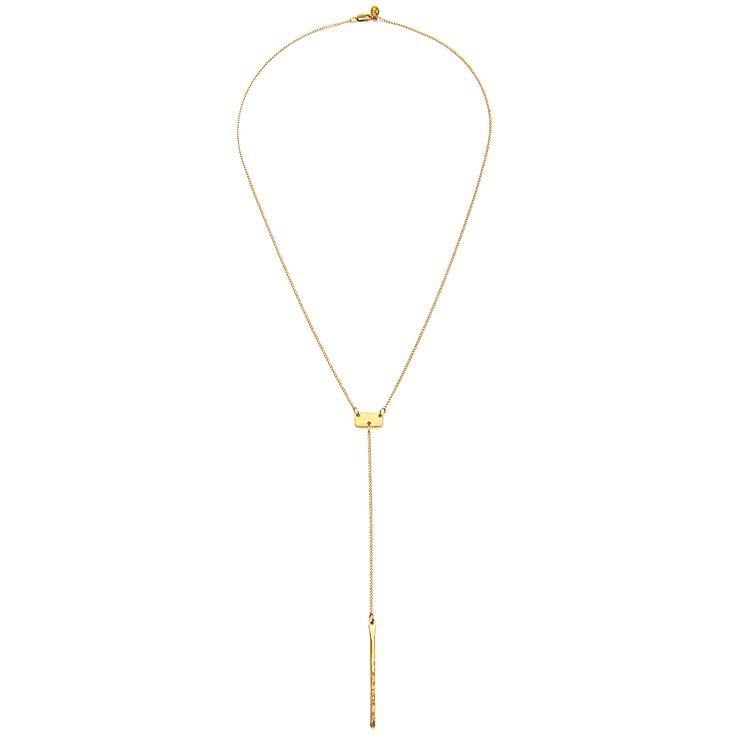 Lariat Bar Necklace $176