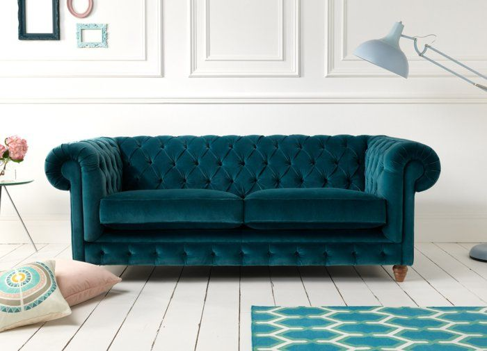 Chesterfield Sofa Ein Stuck Klasse Ins Innendesign Bringen