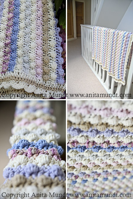 Machine Knit Baby Blanket Pattern : 17 Best images about knitting machine projects on Pinterest Wool, Baby blan...