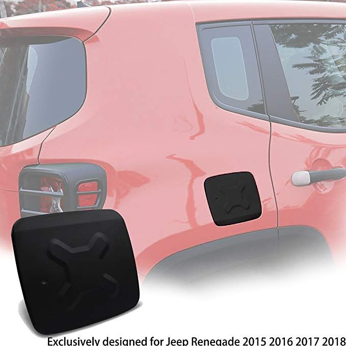 Enrand Jeep Renegade Gas Tank Cover Aluminum Exterior Accessories