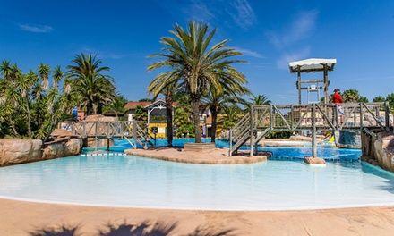 Camping les Sirenes à Argelès-sur-Mer : 7 nuits en super Camping Club 5* avec parc aquatique à Argeles: #ARGELÈS-SUR-MER 325.00€ au lieu de…