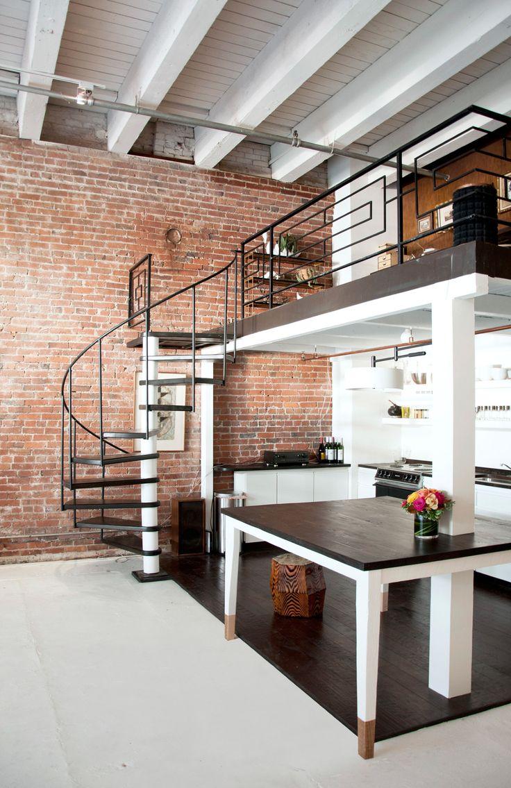 219 best decor: lofts/industrial images on pinterest | live, lofts