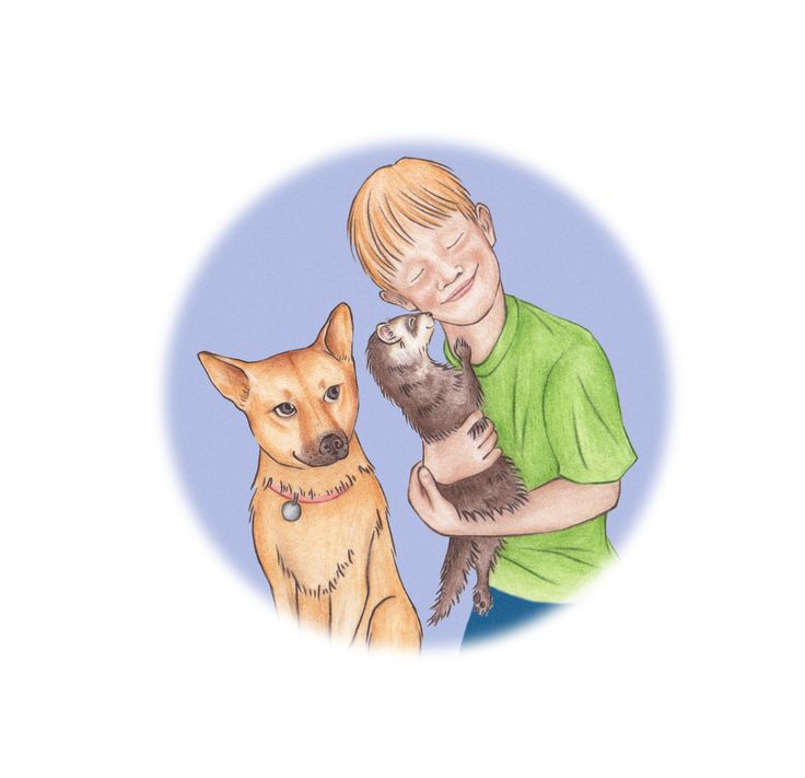 Jax's Big Adventure by Lori Klimek. Jax has a great life and loves his family, but one day he discovers that his cage door has been left open. He begins exploring his surroundings and soon meets a new friend who takes this curious ferret on quite an adventure. When Jax is ready to return home, he discovers that he is lost. Will Jax find his way back home to his loving family with danger lurking around each corner?
