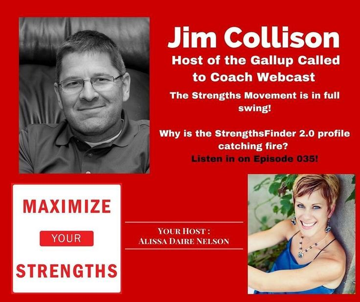 Jim Collison is the host of the Gallup Called to Coach Webcast (among other roles at Gallup). Check it out! Why is this Strengths Movement catching fire? http://ift.tt/2bLHusW  #strengths #maximizeyourstrengths #podcast #coach #cliftonstrengths #gallup
