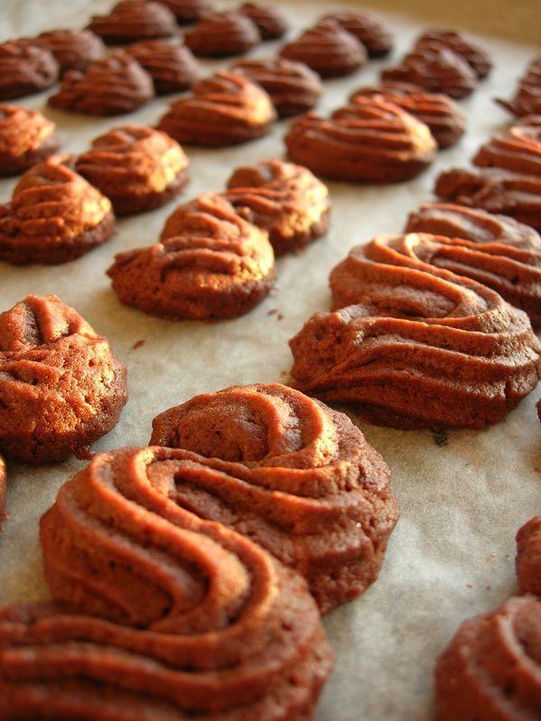 Sablés viennois au cacao (Recette de P. Hermé)