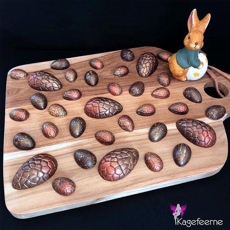Homemade chocolate Easter egg - Lækre chokolade påskeæg til påskedagene 🐣 #Chokoladehygge med Amalie 😊