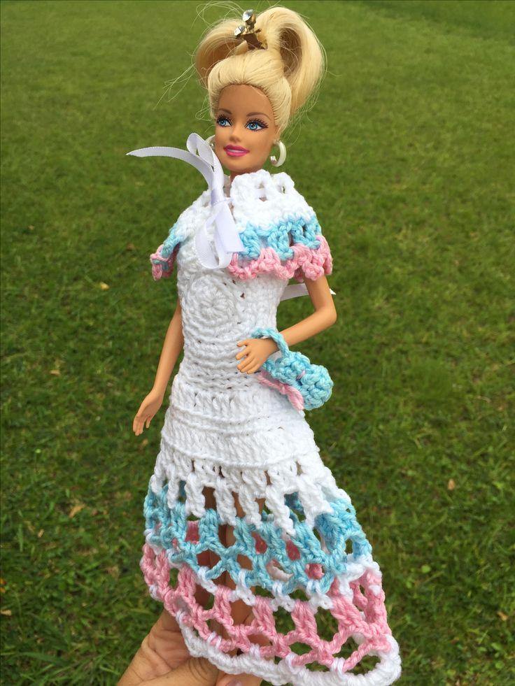 1287 mejores imágenes de Barbie crocheted costumes en Pinterest ...
